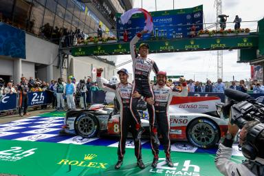 The Toyota team still on cloud nine after victory at the 24 Hours of Le Mans (video) !