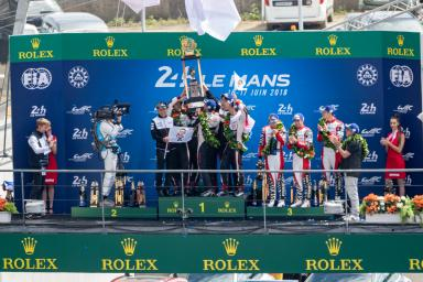 Reactions from the overall winners and more at the 2018 24 Hours of Le Mans