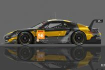 24 Hours of Le Mans - Team Project 1's Porsche 911 RSR colors revealed