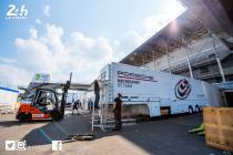 24 Hours of Le Mans – Teams are already setting up in the paddock!