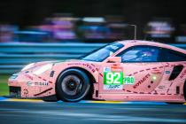 """Pink Pig"" Porsche 911 winner at Le Mans seen at the Goodwood Festival of Speed (video)"