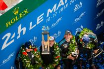 Patrick Dempsey, a proud team owner at the 24 Hours of Le Mans