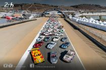 Behind the scenes of the Rennsport Reunion photo of Le Mans Porsches (video)