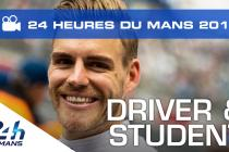 Dominik Kraihamer - Student and 24 Hours of Le Mans driver (video)