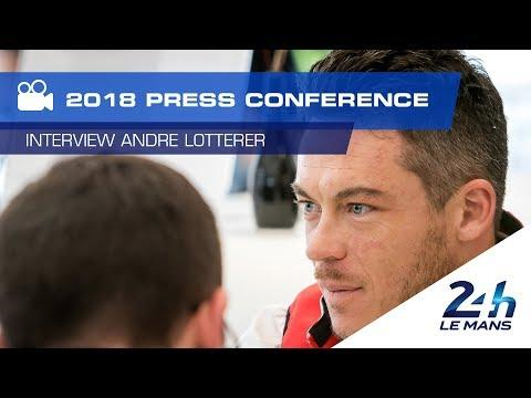 "André Lotterer (Rebellion): ""At Le Mans, we'll have an ace up our sleeve."" (video)"