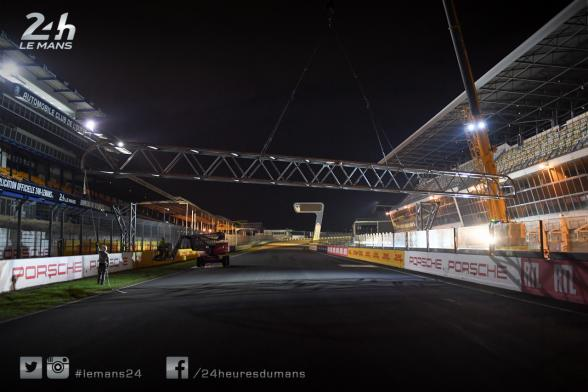 New start line – Work has begun at the 24 Hours circuit