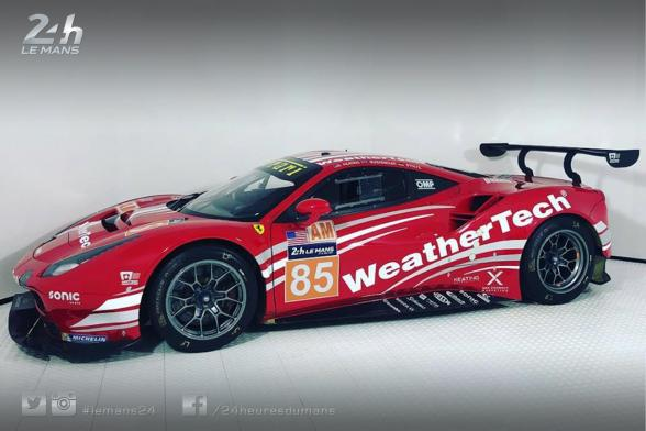 Livery unveiled for Keating Motorsports' Ferrari destined for Le Mans