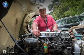 Le Mans Classic 2016 – Didier Lebrun, in love with his car