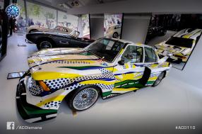 Le Mans Classic 2016 – BMW 320i, the third Art Car