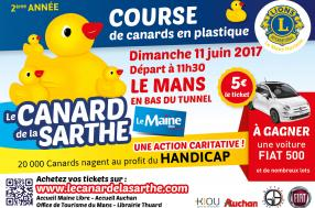 Le Mans Duck Race: adopt a  duck for a good cause before Scrutineering at Le Mans!