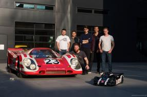 The rebirth of the mythical Porsche 908 long tail from the 1969 24 Hours of Le Mans