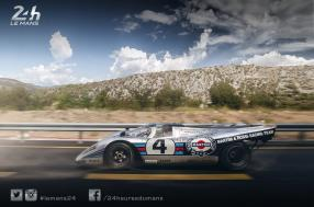 Extraordinary: a vintage Porsche 917 modified to hit the road!