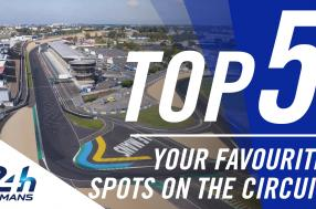 Your Top 5 favorite spots on the 24 Hours of Le Mans circuit! (video)