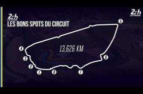 Our handy guide to the best vantage points around the Circuit des 24 Heures du Mans!