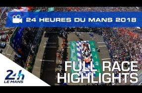 Full race highlights from the 2018 24 Hours of Le Mans (video)