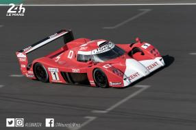 Emmanuel Collard reunited with the Toyota GT-One at the Le Mans Classic