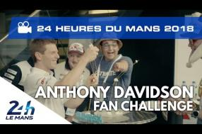 Anthony Davidson (Toyota) challenges 24 Hours of Le Mans fans (video)
