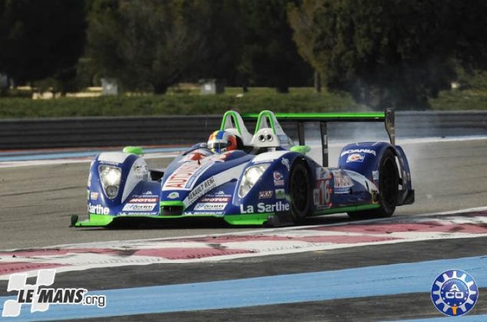 Sortie de la Pescarolo au warm-up