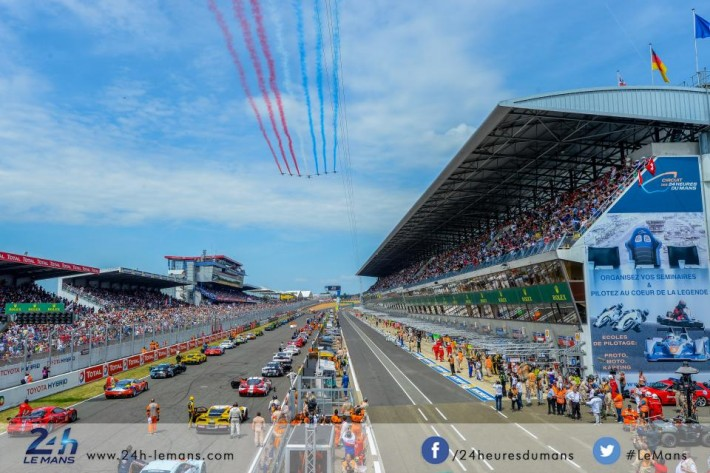The Le Mans 2016 calendar Here it is!