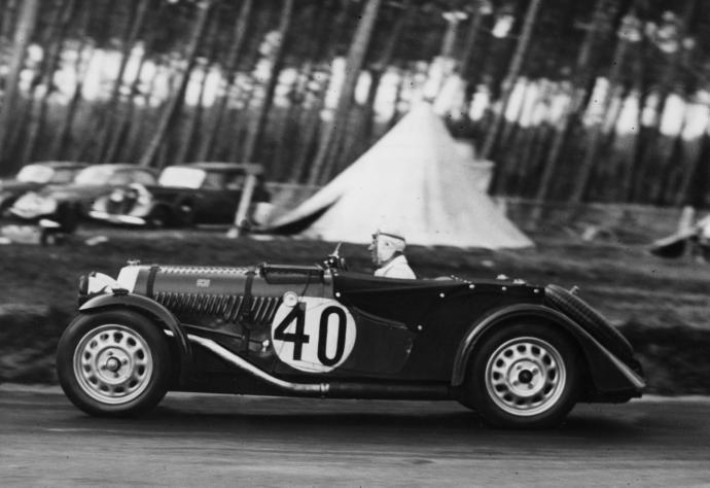 Morgan at the 24 Hours of Le Mans