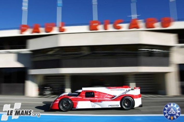 Toyota launch new TS030 Hybrid