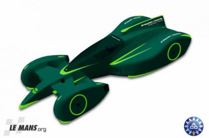 Electric Car Drayson Racing On Track Aco Automobile Club De L Ou