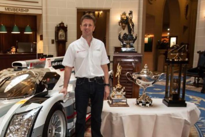 Allan McNish awarded the segrave trophy