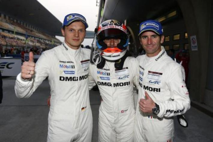 WEC Shanghai - Third podium finish for the Porsche 919 Hybrid