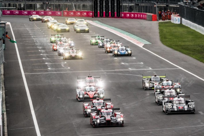 WEC - Porsche wins ahead of Audi and Toyota at the 6 Hours of Mexico