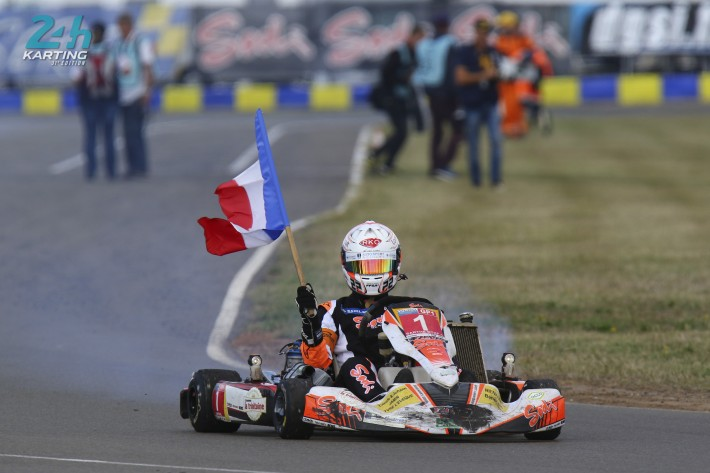24 Heures Karting - Sarthe RTKF 1: experience triumphs!