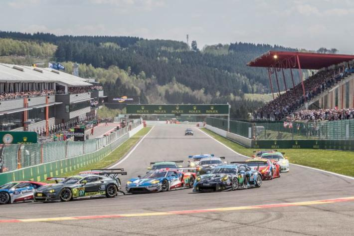 Final rehearsal at Spa before Le Mans for the FIA WEC competitors