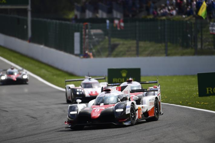 Toyota One-two At WEC 6 Hours Of Spa-Francorchamps