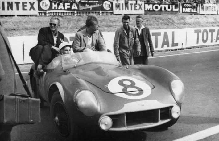 "Sir Stirling Moss: ""Atmosphere of the 24 Hours of Le Mans in 1950 was really terrific."""
