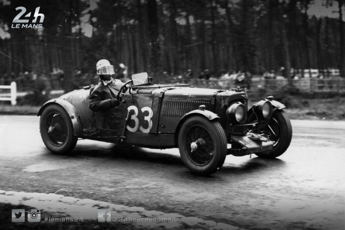 The Aston Martin Ulster, eighth at the 1935 24 Hours of Le Mans, for sale in Monterey