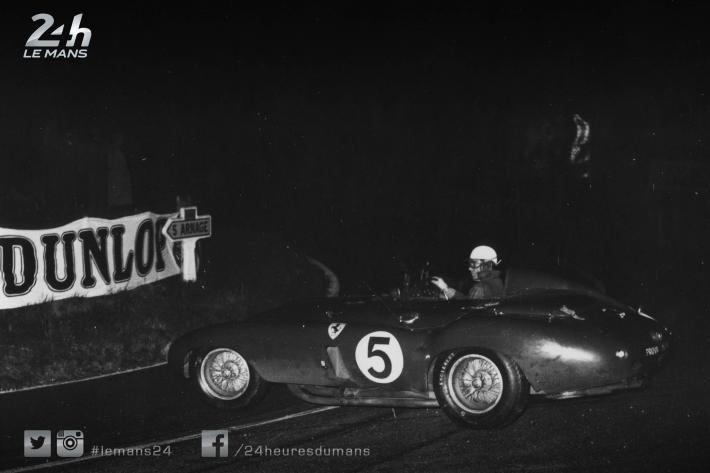For sale: one of the three official Ferrari 121 LMs from the 1955 24 Hours of Le Mans
