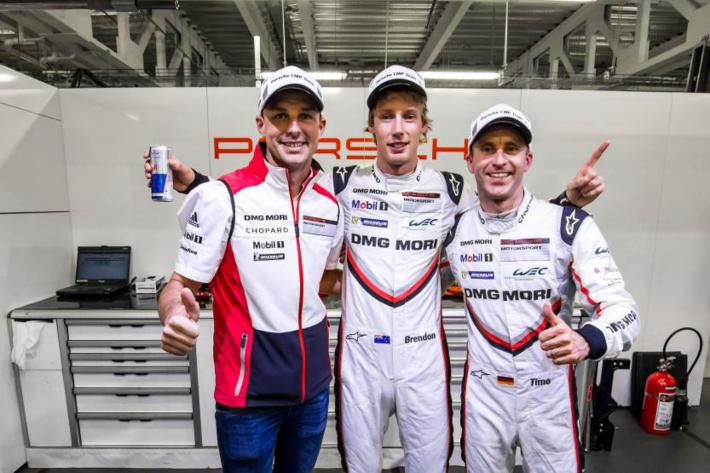 WEC - Porsche on pole for 6 Hours of Mexico