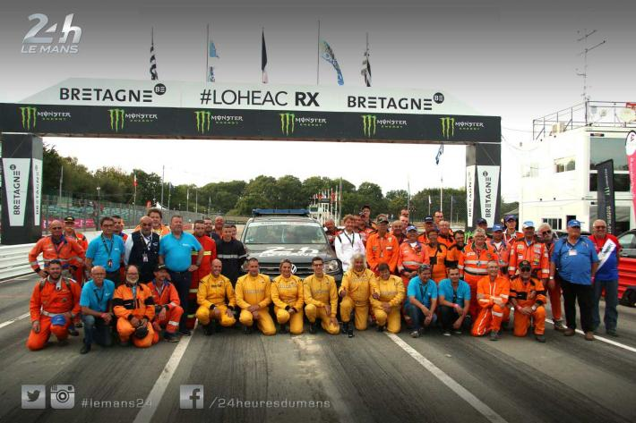 24 Hours of Le Mans - Le Mans track marshals at Lohéac…
