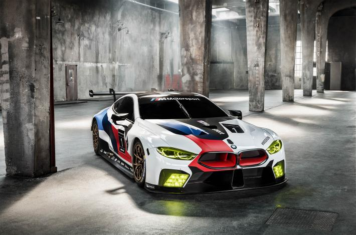For Its Return To Le Mans In 2018 Bmw Shows Off The M8 Gte At