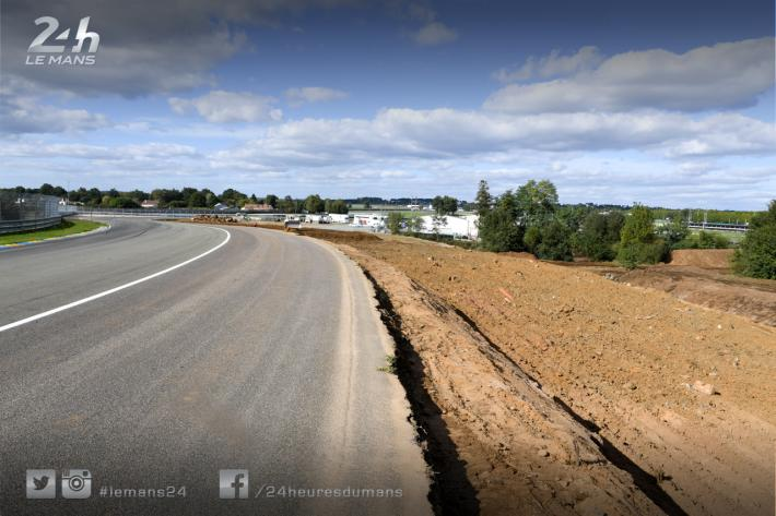 Porsche curves safety modifications underway at the 24 Hours of Le Mans circuit