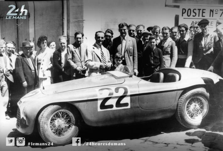 Ferrari pioneers 1949-1965 (1) - Luigi Chinetti 1949, the first win