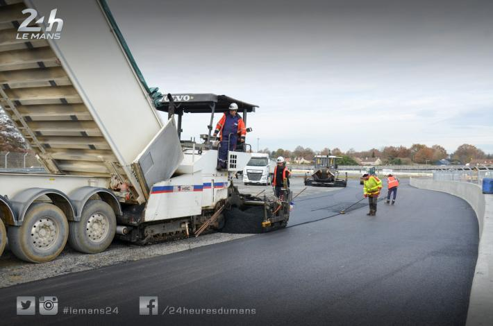24 Hours of Le Mans - Second phase of safety work at the Porsche curves now completed