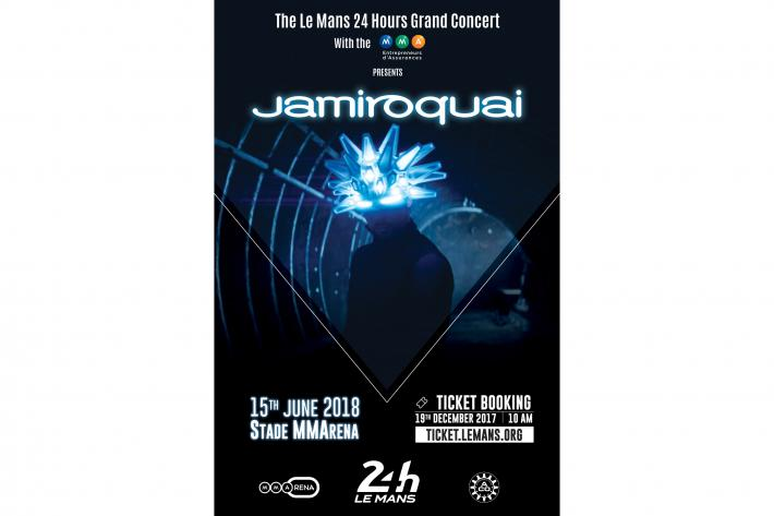 JAMIROQUAI launches the Le Mans 24 Hours Grand Concert with the MMA! - Friday 15th June