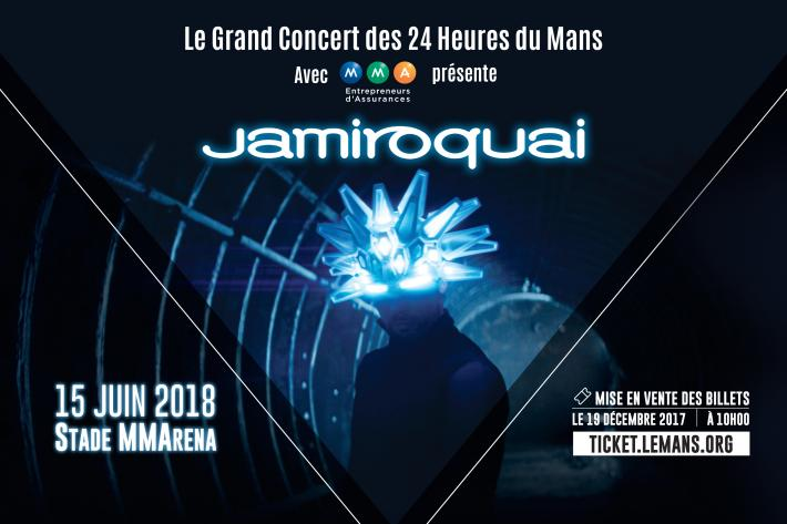 Jamiroquai to turn up the volume at Le Mans in 2018