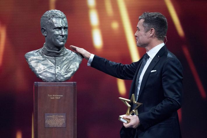 Nine-time Le Mans winner Tom Kristensen inducted into the Danish Hall of Fame