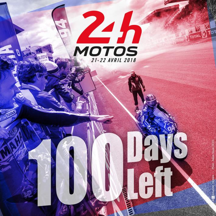 24 Heures Moto 2018 - 100 days to go!