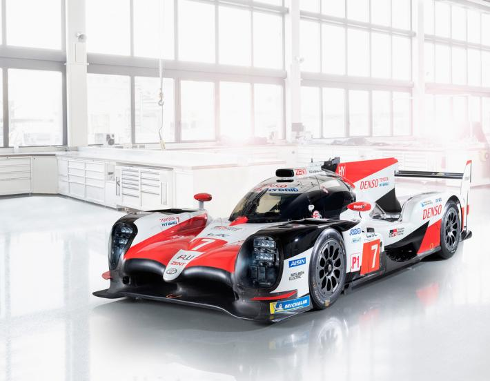 Toyota TS050 HYBRID shows its colors (+ video about Fernando Alonso at Le Mans)
