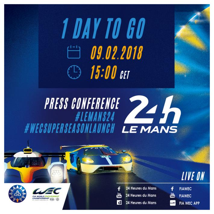 2018 Le Mans 24 Hours - In 24 hours the field will be revealed!