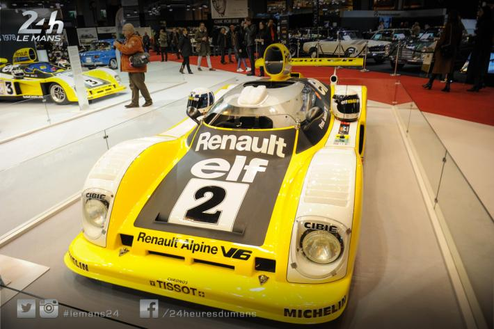 Rétromobile 2018: the 24 Hours of Le Mans Drivers' Club spotlighted by Renault Alpine