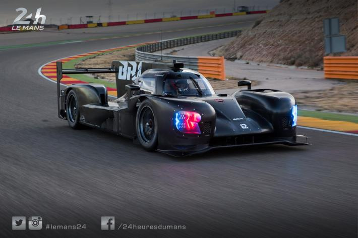 Three days of tests for SMP Racing's BR1 in Spain