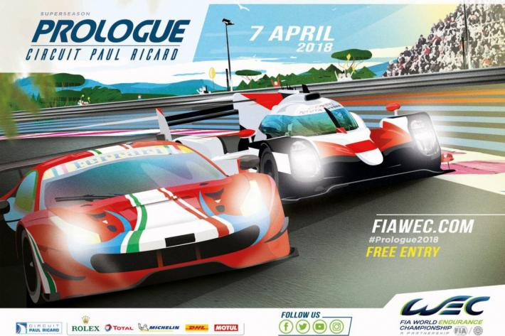 A 35-car field for the FIA WEC Prologue in Le Castellet